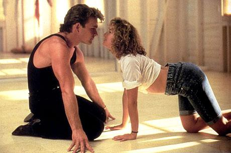 Patrick Swayze sex symbol in Dirty Dancing